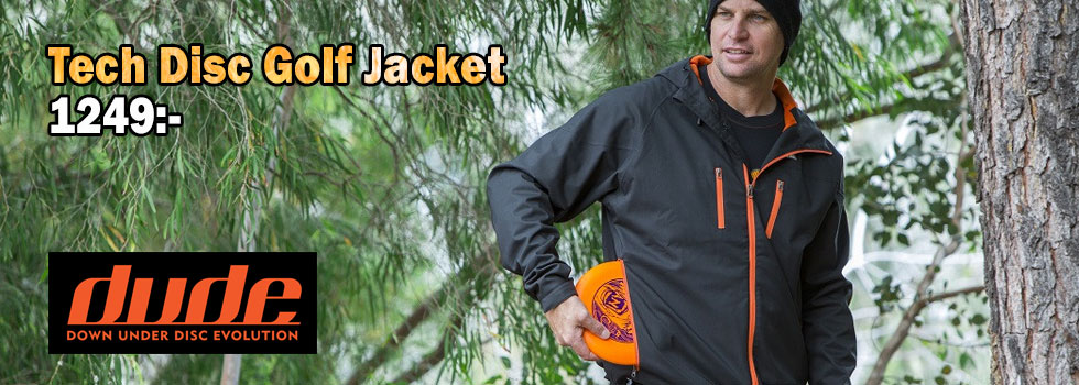 Dude Tech Disc Golf Jacket