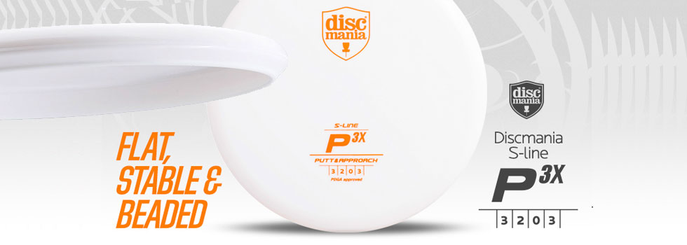 P3x Discmania Stable Putter