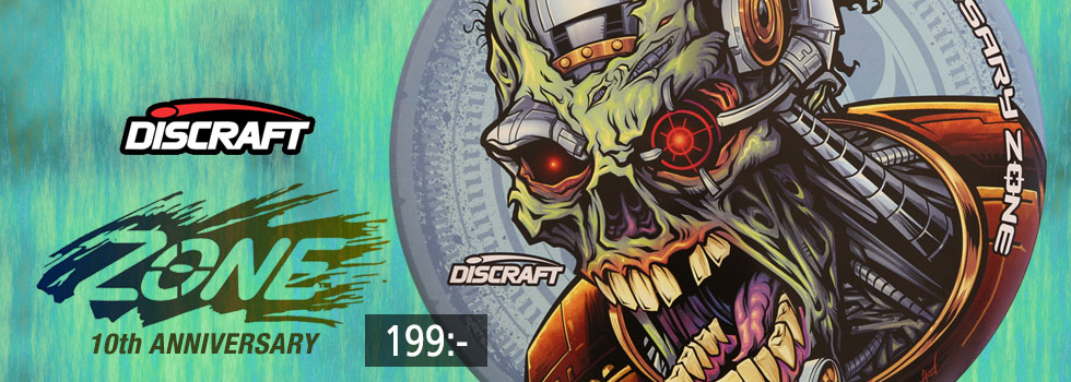Discraft Zone 10th Anniversary