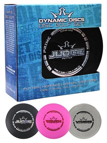 DD Prime Set 3 Disc+Bag