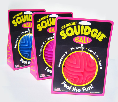 Squidgie Ball 3-Pack