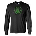DGA Black Long Sleeve Green Design