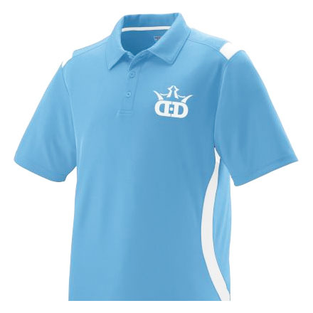 Dynamic Discs Two Tone Collared Dri-Fit Polo 5015