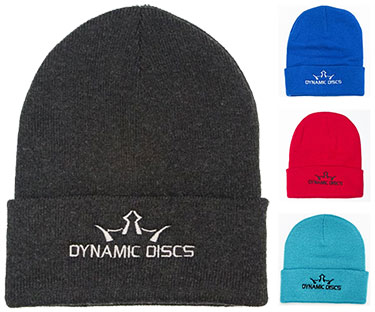 Dynamic Discs King D's Solid Knit Beanie Stocking