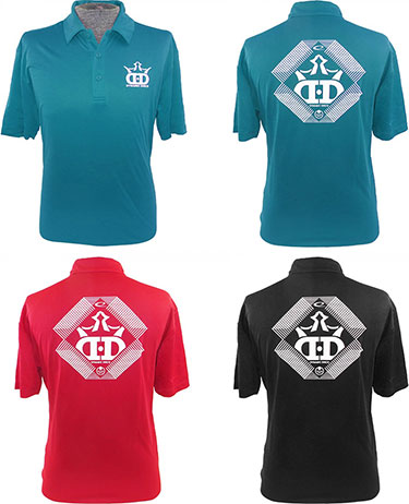 Dynamic Discs Golf Polo DD-Logo