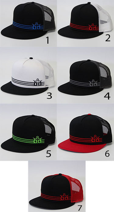 Dynamic Discs Triple Stripe Snapback