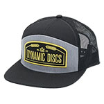 Dynamic Discs Wheat Arched Snapback Adjustable Hat