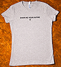 Grip Show Me Your Rating T-shirt Women