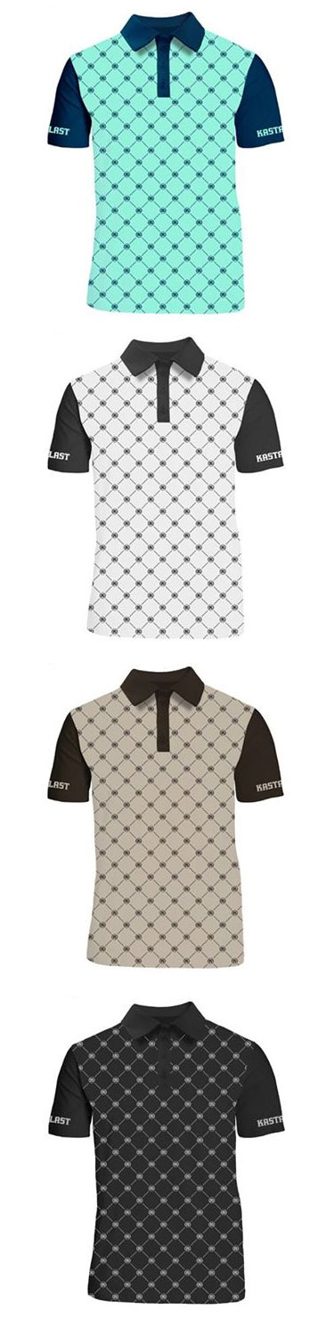 Function Collared Tee Squares