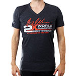 Ricky Wysocki 2x Champ V-neck T-Shirt