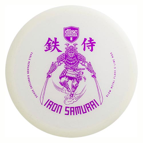 MD3 Glow C-Line Metal Flake Iron Samurai Eagle McMahon