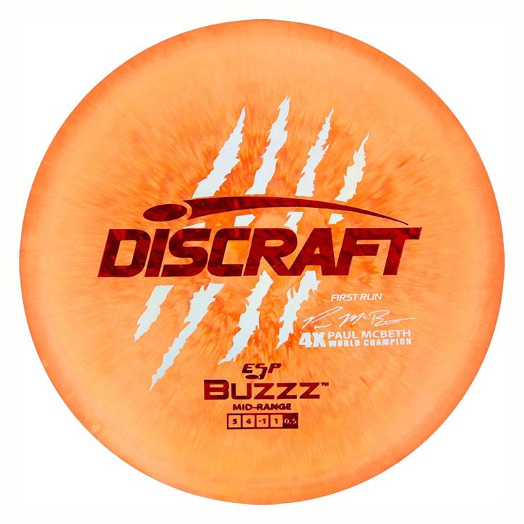 ESP Buzzz Paul McBeth First Run
