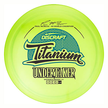 Ti Undertaker Paul McBeth