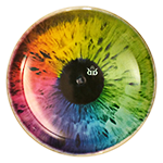 Trespass DyeMax Colorful Eye