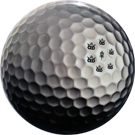 Truth Fuzion DyeMax Golf Ball