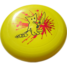 Bad Kitty 130g Sport Frisbee Yellow
