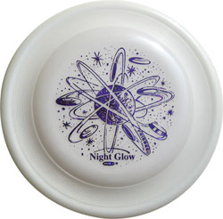 Night Glow Fastback Frisbee