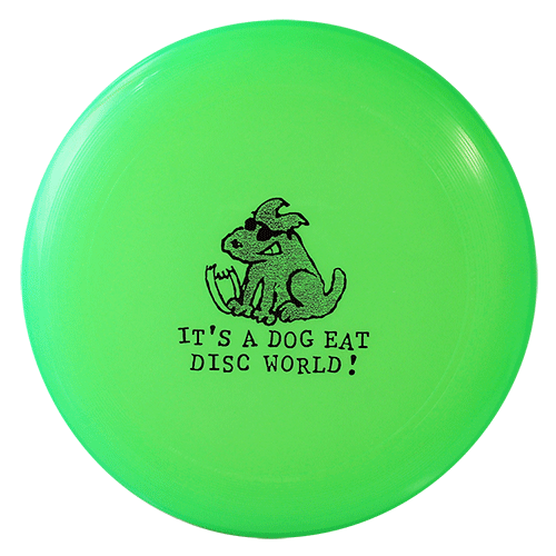 U-Max Dog Eat Disc World Frisbee