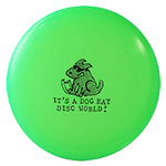 U-Max Dog Eat Disc World Frisbee