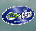 Discsport Sticker 2-Pack