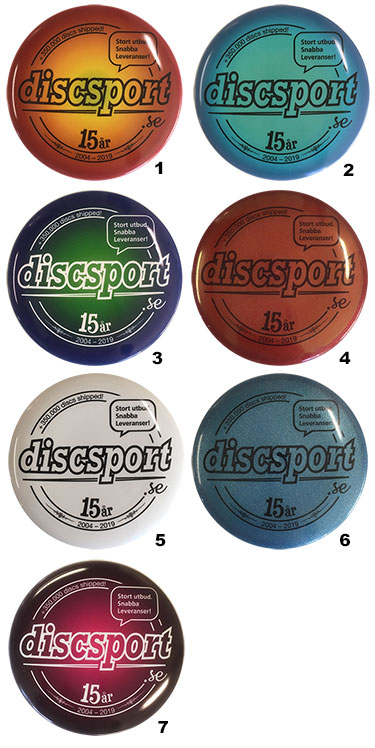 Discsport Mini 15 ÅR