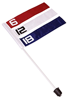 Direct Hit Disc Golf Basket Wind Flags