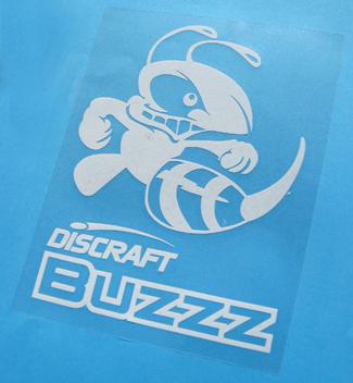 Buzzz Vinyl sticker Large