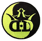 Dynamic Discs Din Dang Iron On Disc Golf Patch
