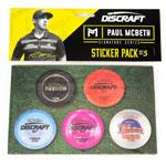 Discraft Sticker 5 Pack