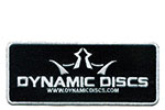Dynamic Discs King D's Iron On Patch Disc Golf