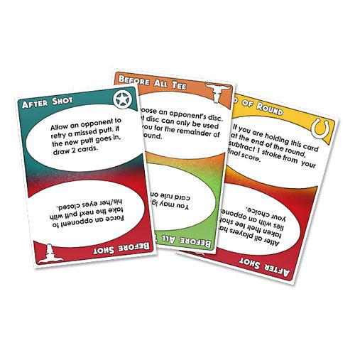 RIPT Showdown Disc Golf Card Game