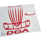 DGA Big Basket Sticker/Dekal