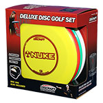Deluxe Disc Golf Set 4 Disc+Bag