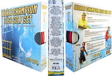 Latitude 64 Retro World Champion Disc Golf Set