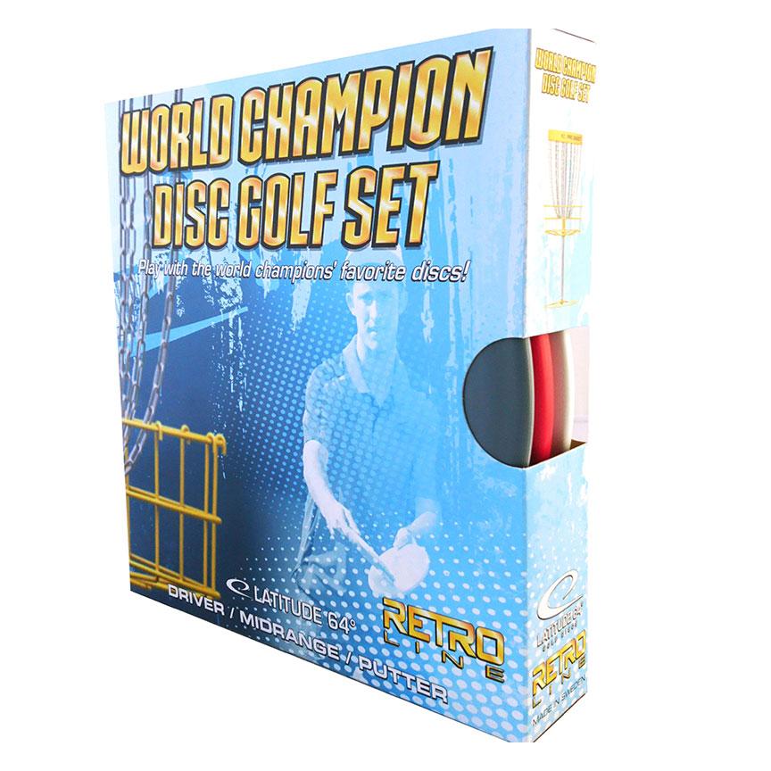 World Champion Disc Golf Set